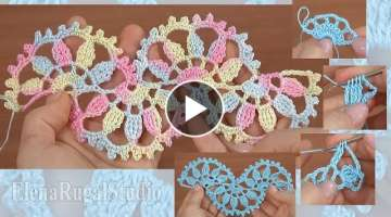 How to Crochet Beautiful Lace